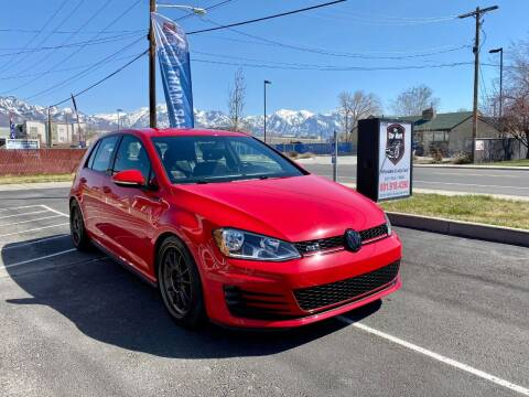 2016 Volkswagen Golf GTI for sale at The Car-Mart in Murray UT