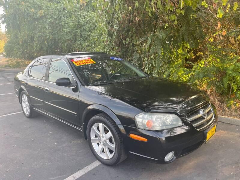 2003 Nissan Maxima for sale at Car Deal Auto Sales in Sacramento CA