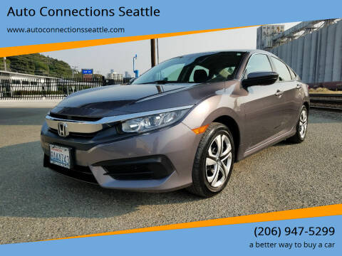 2016 Honda Civic for sale at Auto Connections Seattle in Seattle WA