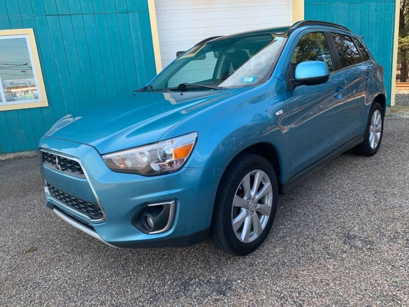 2014 Mitsubishi Outlander Sport for sale at Mutual Motors in Hyannis MA
