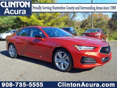 2021 Acura TLX for sale at Clinton Acura new in Clinton NJ