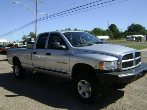 2004 Dodge Ram Pickup 2500 for sale at Tom Boyd Motors in Texarkana TX