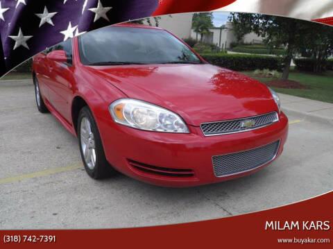 2013 Chevrolet Impala for sale at MILAM KARS in Bossier City LA