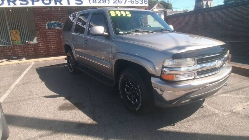2003 Chevrolet Tahoe for sale at IMPORT MOTORSPORTS in Hickory NC