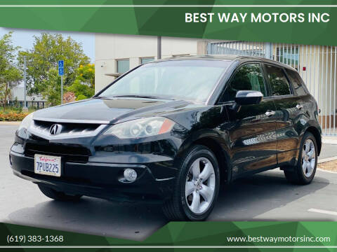 2009 Acura RDX for sale at BEST WAY MOTORS INC in San Diego CA