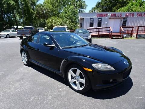2008 Mazda RX-8 for sale at DONNY MILLS AUTO SALES in Largo FL