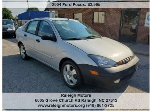 2004 Ford Focus for sale at Raleigh Motors in Raleigh NC