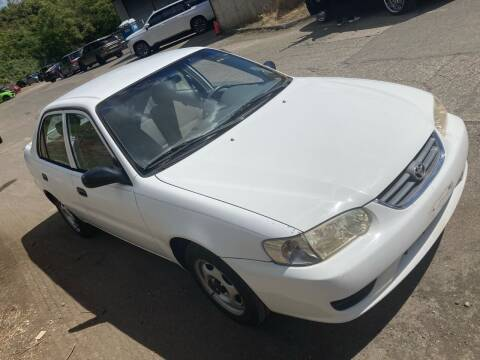2001 Toyota Corolla for sale at Blue Line Auto Group in Portland OR