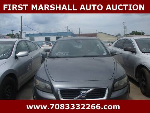 2008 Volvo C30 for sale at First Marshall Auto Auction in Harvey IL
