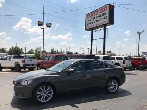 2017 Mazda MAZDA6 for sale at United Auto Sales in Oklahoma City OK