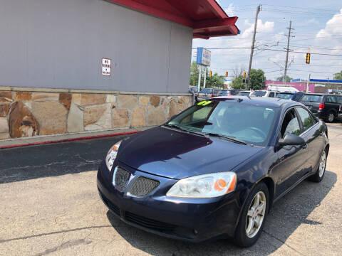 2009 Pontiac G6 for sale at Drive Max Auto Sales in Warren MI