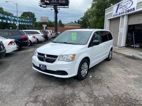 2016 Dodge Grand Caravan for sale at 1st Quality Auto in Milwaukee WI