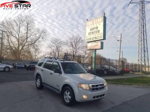 2008 Ford Escape for sale at Five Star Auto Center in Detroit MI