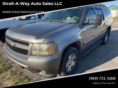 2007 Chevrolet Suburban for sale at Strait-A-Way Auto Sales LLC in Gaylord MI