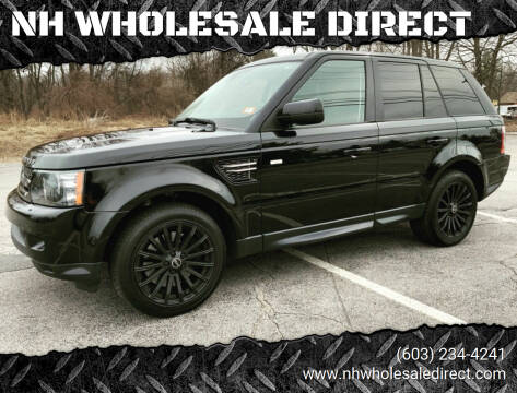 2012 Land Rover Range Rover Sport for sale at NH WHOLESALE DIRECT in Derry NH