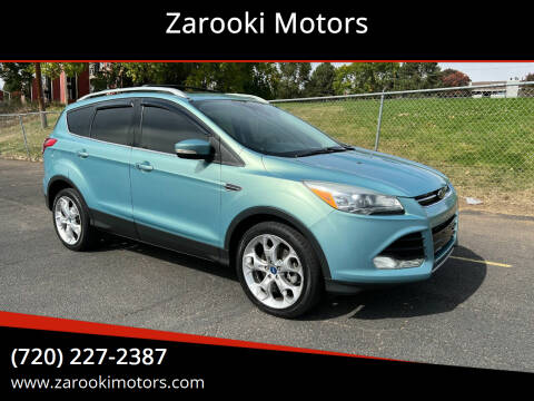 2013 Ford Escape for sale at Zarooki Motors in Englewood CO