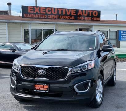 2016 Kia Sorento for sale at Executive Auto in Winchester VA