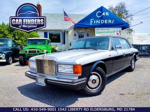 1985 Rolls-Royce Silver Spur for sale at CAR FINDERS OF MARYLAND LLC - Classics in Eldersburg MD