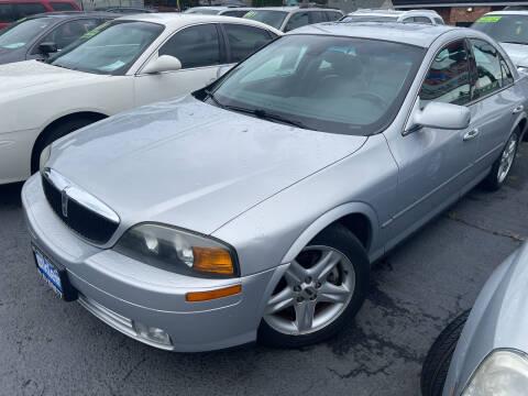 2002 Lincoln LS for sale at American Dream Motors in Everett WA
