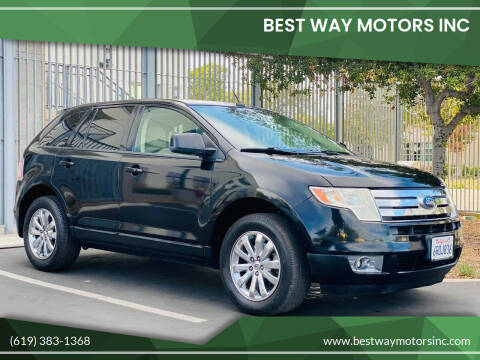 2009 Ford Edge for sale at BEST WAY MOTORS INC in San Diego CA