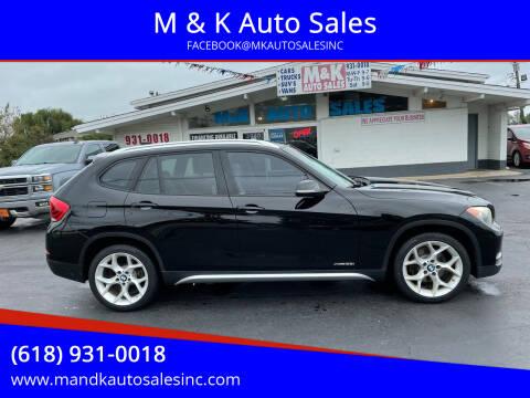 2013 BMW X1 for sale at M & K Auto Sales in Granite City IL