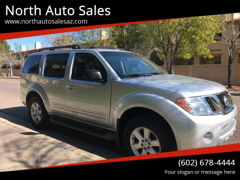 2008 Nissan Pathfinder for sale at North Auto Sales in Phoenix AZ