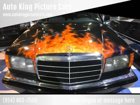1984 Mercedes-Benz 500-Class for sale at Auto King Picture Cars - Rental in Westchester County NY