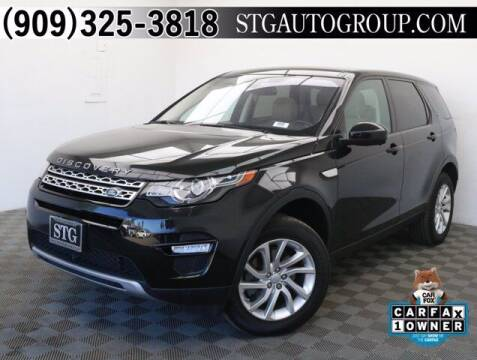 2017 Land Rover Discovery Sport for sale at STG Auto Group in Montclair CA
