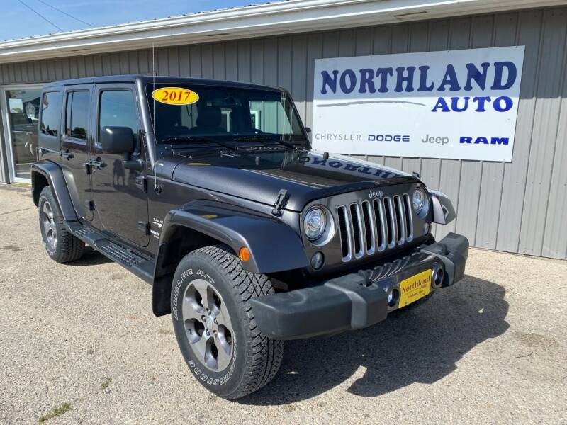 2017 Jeep Wrangler Unlimited for sale at Northland Auto in Humboldt IA