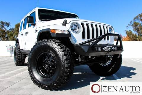 2018 Jeep Wrangler Unlimited for sale at Zen Auto Sales in Sacramento CA