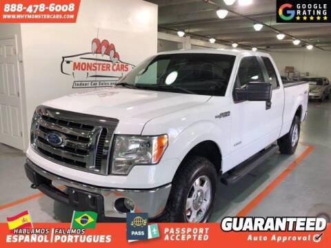 2011 Ford F-150 for sale at Monster Cars in Pompano Beach FL