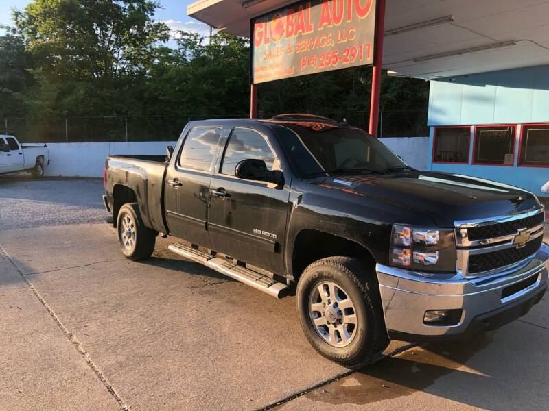2013 Chevrolet Silverado 2500HD for sale at Global Auto Sales and Service in Nashville TN