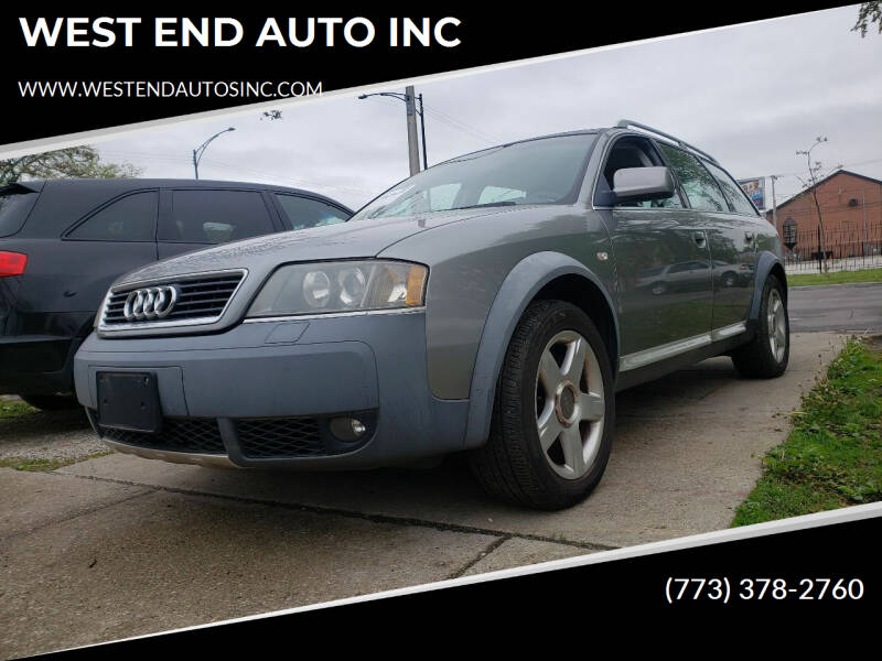 2004 Audi Allroad for sale at WEST END AUTO INC in Chicago IL