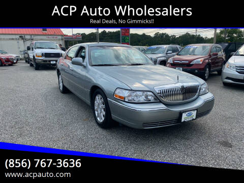 2006 Lincoln Town Car for sale at ACP Auto Wholesalers in Berlin NJ
