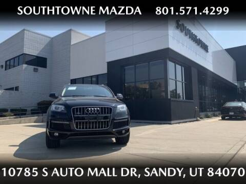 2014 Audi Q7 for sale at Southtowne Mazda of Sandy in Sandy UT