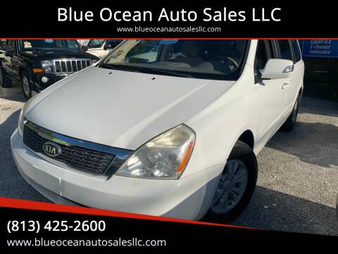 2012 Kia Sedona for sale at Blue Ocean Auto Sales LLC in Tampa FL