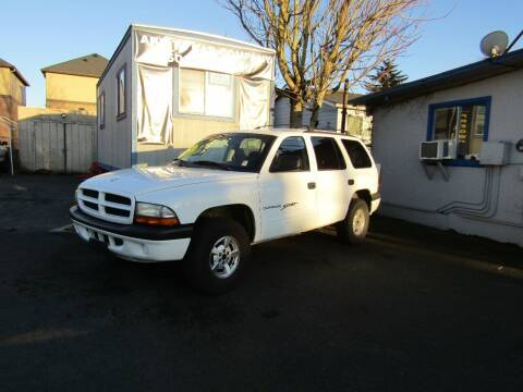 2001 Dodge Durango for sale at ARISTA CAR COMPANY LLC in Portland OR