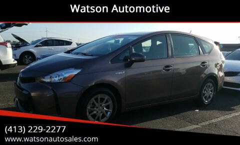 2016 Toyota Prius v for sale at Watson Automotive in Sheffield MA