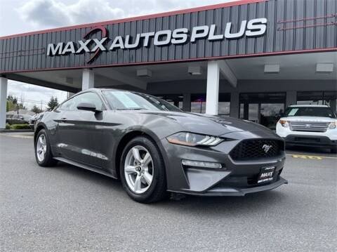 2018 Ford Mustang for sale at Maxx Autos Plus in Puyallup WA