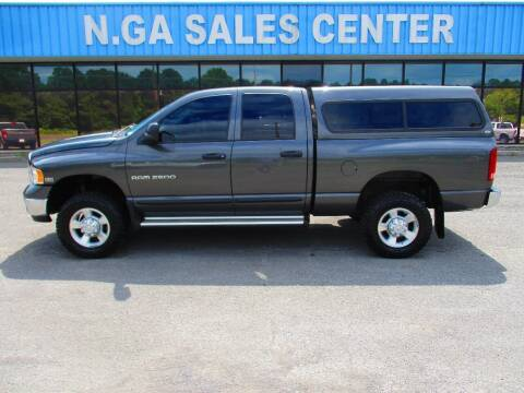 2003 Dodge Ram Pickup 2500 for sale at NORTH GEORGIA Sales Center in La Fayette GA