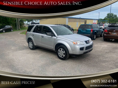 2007 Saturn Vue for sale at Sensible Choice Auto Sales, Inc. in Longwood FL