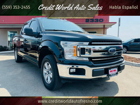 2018 Ford F-150 for sale at Credit World Auto Sales in Fresno CA