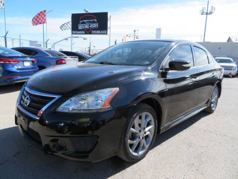 2015 Nissan Sentra for sale at Moving Rides in El Paso TX