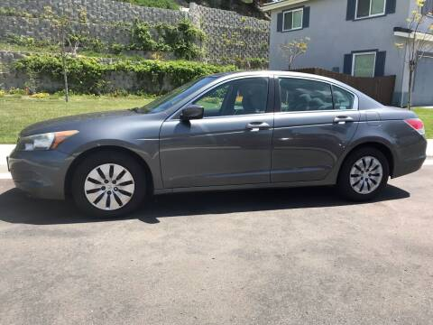 2009 Honda Accord for sale at CALIFORNIA AUTO GROUP in San Diego CA