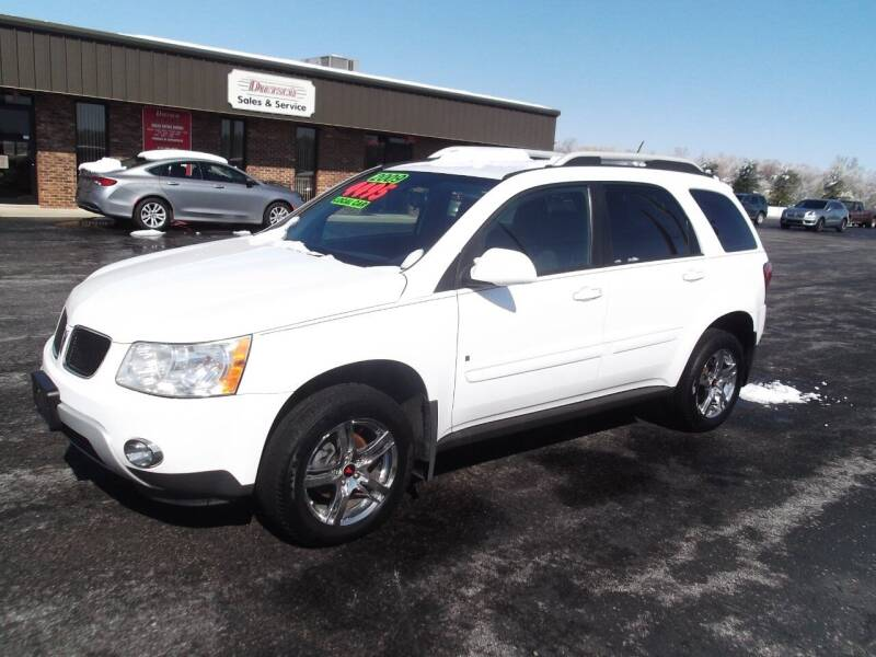 2009 Pontiac Torrent for sale at Dietsch Sales & Svc Inc in Edgerton OH