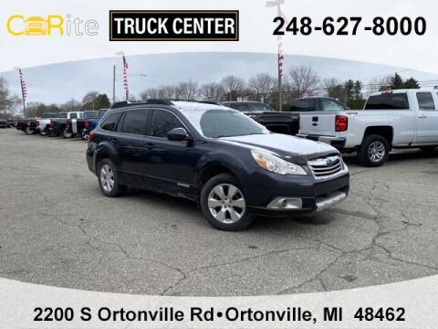 2011 Subaru Outback for sale at Carite Truck Center in Ortonville MI