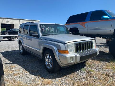 2006 Jeep Commander for sale at Anaheim Auto Auction in Irondale AL