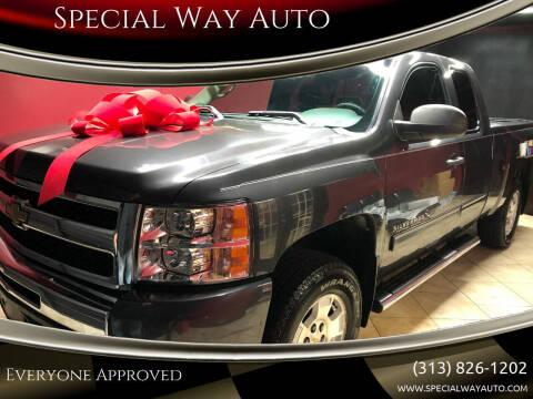 2011 Chevrolet Silverado 1500 for sale at Special Way Auto in Hamtramck MI