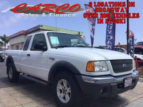 2003 Ford Ranger for sale at CARCO SALES & FINANCE #3 in Chula Vista CA