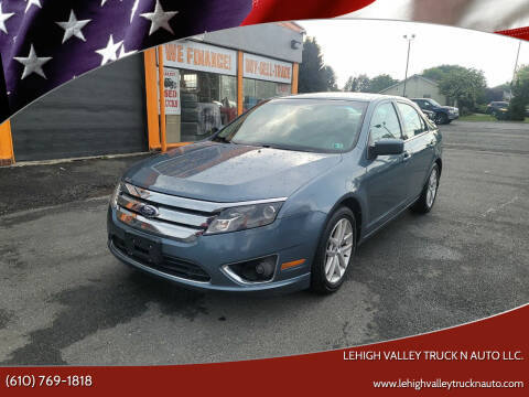 2011 Ford Fusion for sale at Lehigh Valley Truck n Auto LLC. in Schnecksville PA